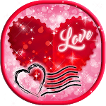 Valentine Cards ❤️ Love Greetings Cards Making App icon