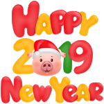 ✨🎇WAStickerApps - Happy New Year icon