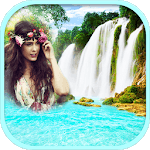 Waterfall Frames For Photos icon
