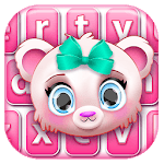 Cute Teddy Bear Keyboard Theme icon