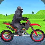 Jungle Animals Motorbike Adventure icon
