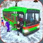 Passenger Bus Snow Mountains Drive icon