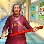 Scary Granny Teacher HighSchool icon