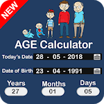Age Calculator by Date of Birth: Birthday Reminder icon