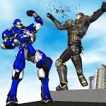 Superhero Robot Battle:kung fu future fight icon