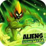 Aliens Arena: Mega Alien War Transform for pc logo