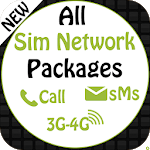 All Sim Network Packages Free 2019 icon
