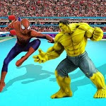 Superhero Wrestling Tag Team Ring Fighting Arena icon