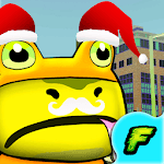 Amazing Frog Game: IN THE CITY icon