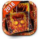Free Fireskull Keyboard Theme 2018 icon