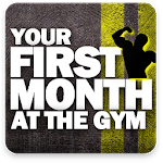 Beginner workout - Your First Mounth Gym Program icon