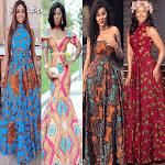 Ankara Long Gown Design & Fashion Styles icon