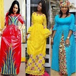 Bamako Long Gown Fashion Style icon