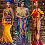 Kente Gowns Fashion Styles. for pc logo
