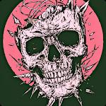 Skeleton Skull Art Wallpaper icon