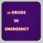 50 drugs in emergency icon