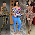 ANKARA CASUAL STYLISH STYLES 2019 icon