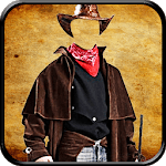 Cowboy photo dresses icon