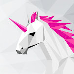 UNICORN Low Poly | Puzzle Art Game | Polygonal Art icon