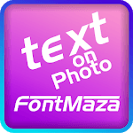 Text on Photo - FontMaza icon