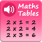 Maths Tables - Voice Guide - Speaking icon