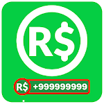 Free Robux for Roblox Calculator icon