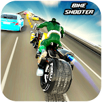 Bike Shooter Superhero: Moto Blitz Racing Shooter for pc logo