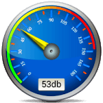 sound meter decibel meter icon