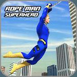 Rope Hero Crime Simulator – Miami Crime City Games icon