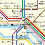Metro Map: Paris (Offline) for pc logo