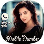 Real Girls Mobile Number Prank icon