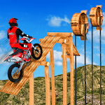Crazy Bike Tricky Stunt Master icon