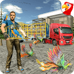 Birds Transport Truck Simulator -Cage Truck Driver icon
