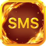 Fire Messenger for SMS - Default SMS&Phone handler icon