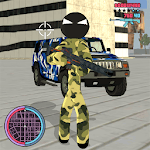 Army Stickman Rope Hero Counter Attack icon