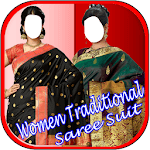Women Traditional Saree Suit icon