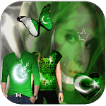 Pakistan Flag Shirts Profile Photo Editor icon