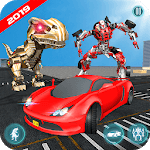 Dinosaur Robot Transform: Car Robot Transport Sim icon