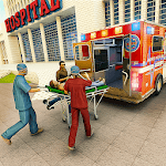 911 Ambulance Rescue Emergency Driving icon