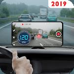 Speedometer Dash Cam: Speed Limit & Car Video App icon