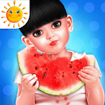 Aadhya's Daily Routine Activities Game icon