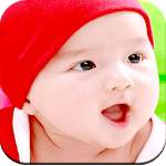 Cute Baby Wallpaper for pc logo