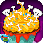 Cupcake-Halloween Cooking game icon