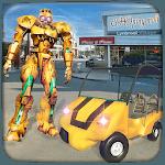 Robot Shopping Mall Taxi Driver icon