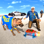 Us Police Dog Duty Simulator for pc logo