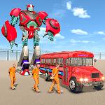 Us Police Prisoner Transport Robot Bus icon