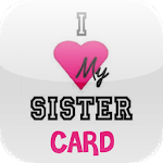 Love You Sister Card icon