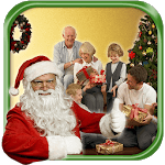 Take a picture with Santa icon