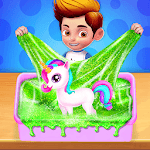 DIY Unicorn Slime Maker icon