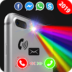 Brightest Color Flashlight: Flash Alert, LED light icon